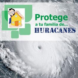Protege tu familia de huracanes, tornados y tomentas eléctricas