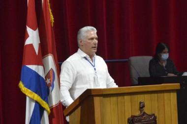 presidente de la República, Miguel Díaz-Canel