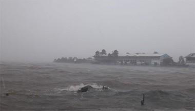 La tormenta Michael en La Coloma, Pinar del Río, en octubre de 2018. Foto tomada defacebook.com/daimy.diazbreijo.