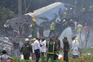 accidente aéreo del 18 de mayo de 2018