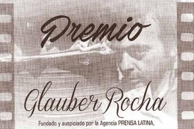 Banner alegórico al Premio Glauber Rocha