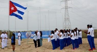 Juegos Centroamericanos: Cuba, primera bandera izada en Barranquilla