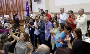 Miguel Díaz-Canel, al clausurar el Congreso de la Unión de Periodistas de Cuba