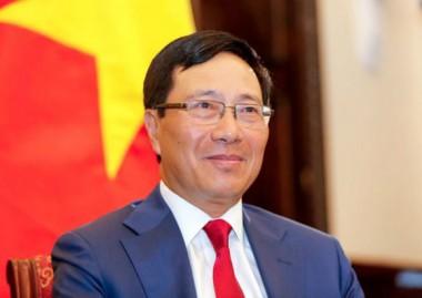 titular de Relaciones Exteriores de Vietnam, Pham Binh Minh,